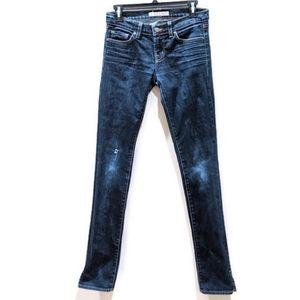 J Brand pencil split leg ink jeans